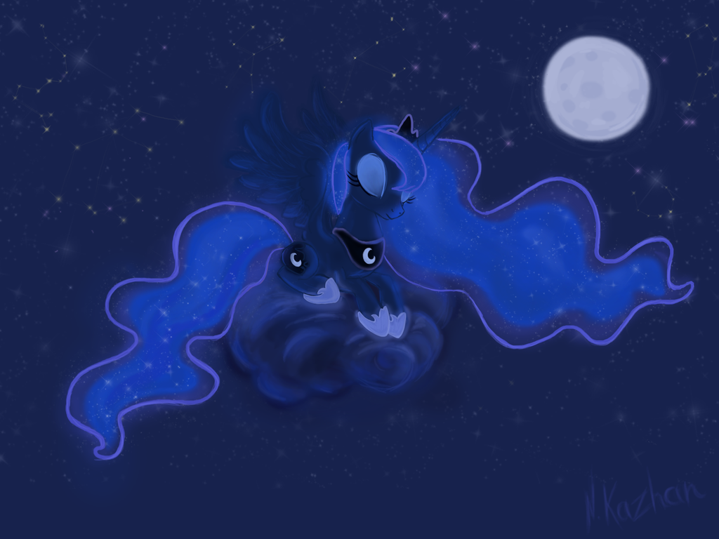 Luna by NKazhan