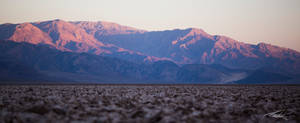 Sunrise in Death Valley National Park