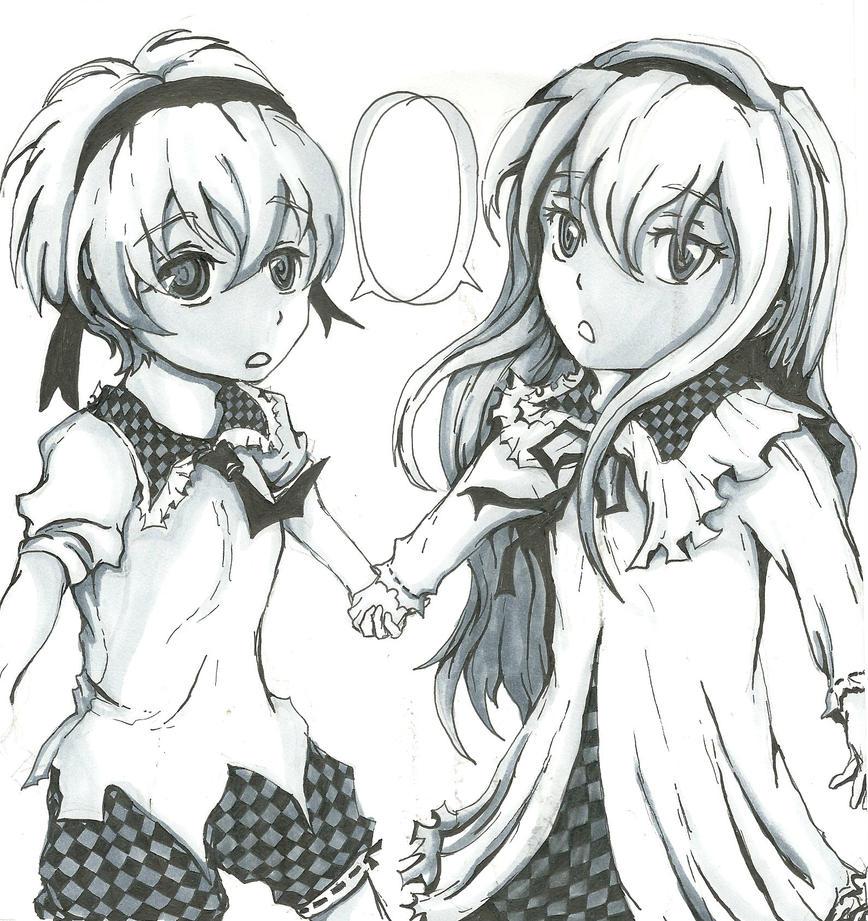 Blood Link Manga Chapter 8: Sketch For Rosa By Schruppi On DeviantART
