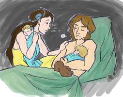 Wake up, Ani... by FlyingOverTheGrass