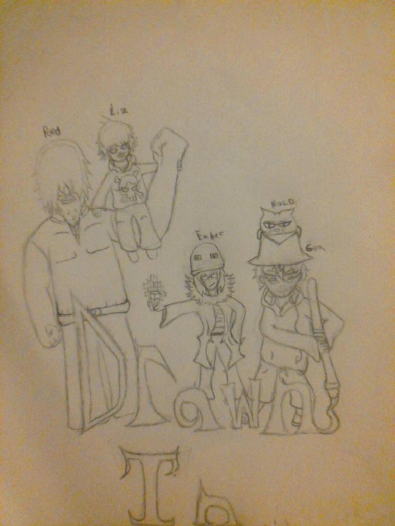 Drawn in by AnimePanda69