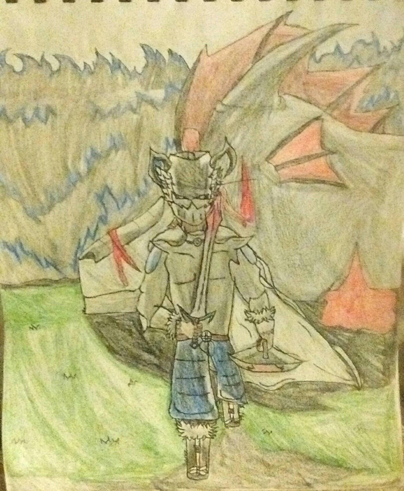 The silver knight by AnimePanda69