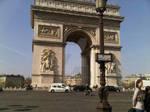 The Arch de Triumph in Paris