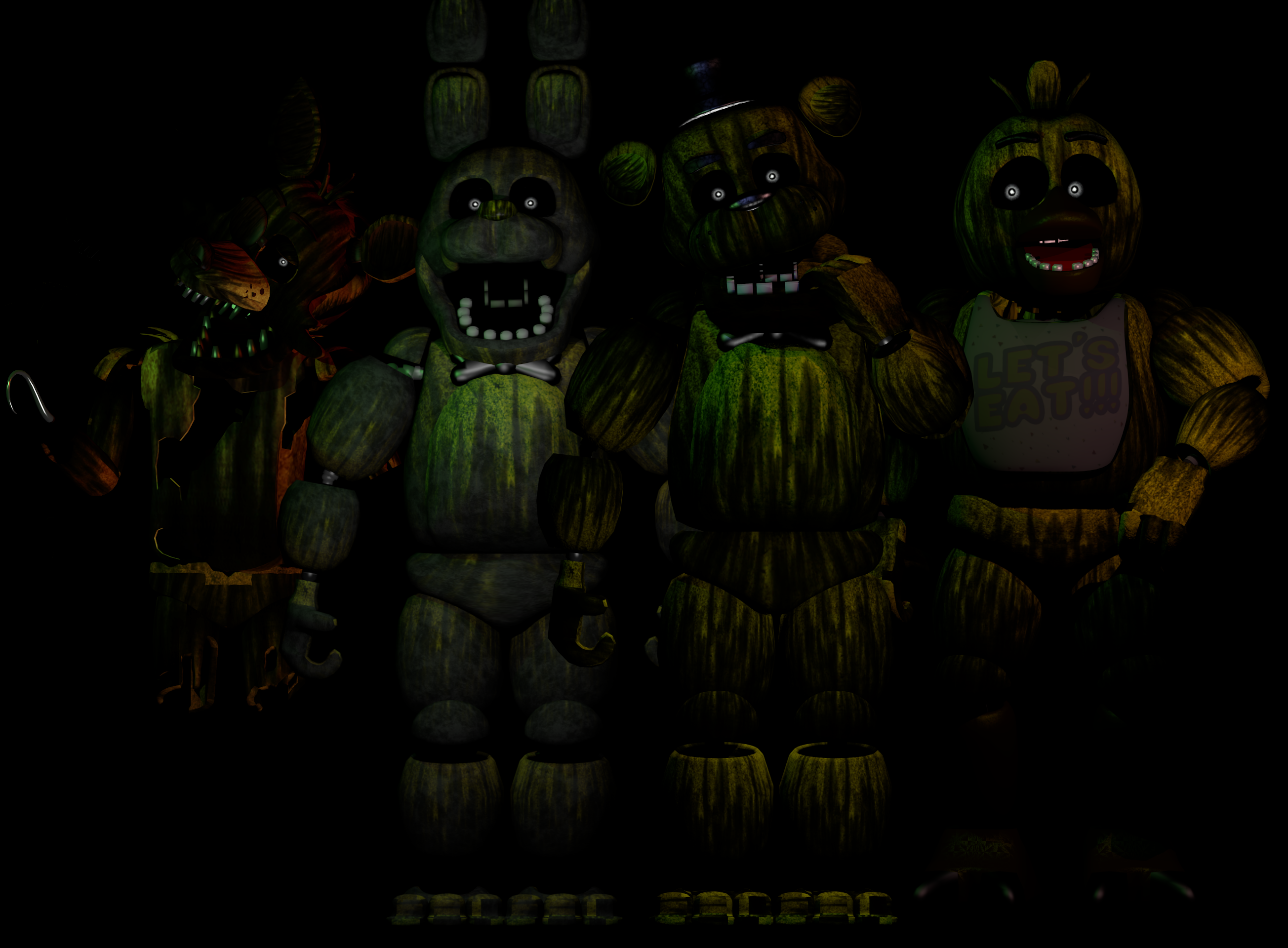 Fnaf 3 Characters Www Pixshark Com Images Galleries