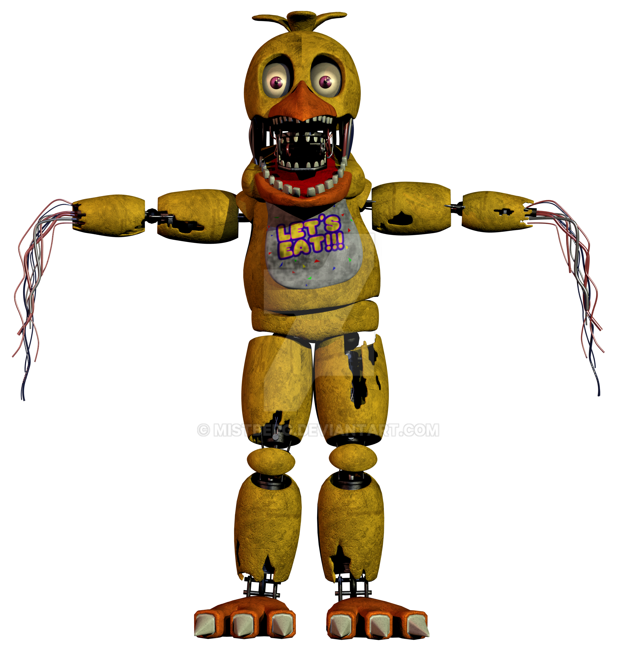 images of fnaf 2 withered chica calto