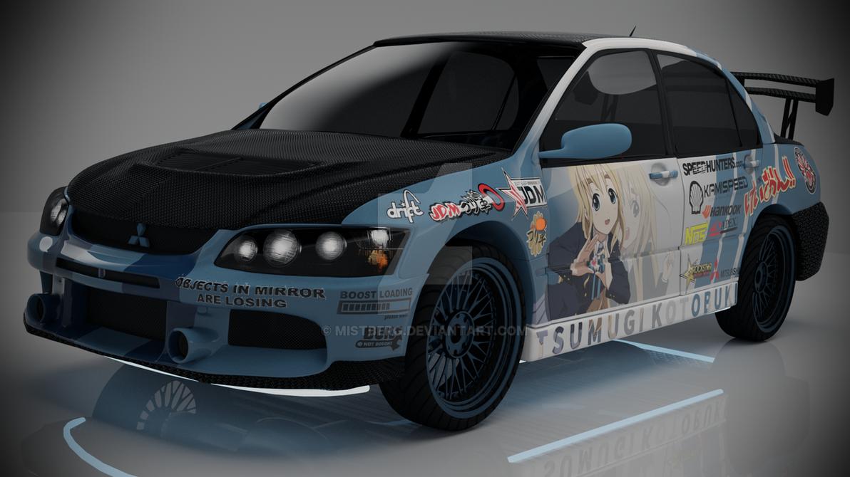 Mitsubishi Lancer Evo IX by Mistberg