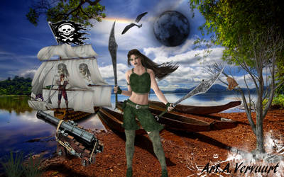 pirate woman by annemaria48