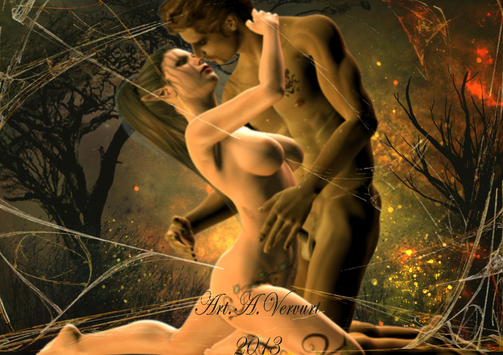 Love In The Wood by annemaria48