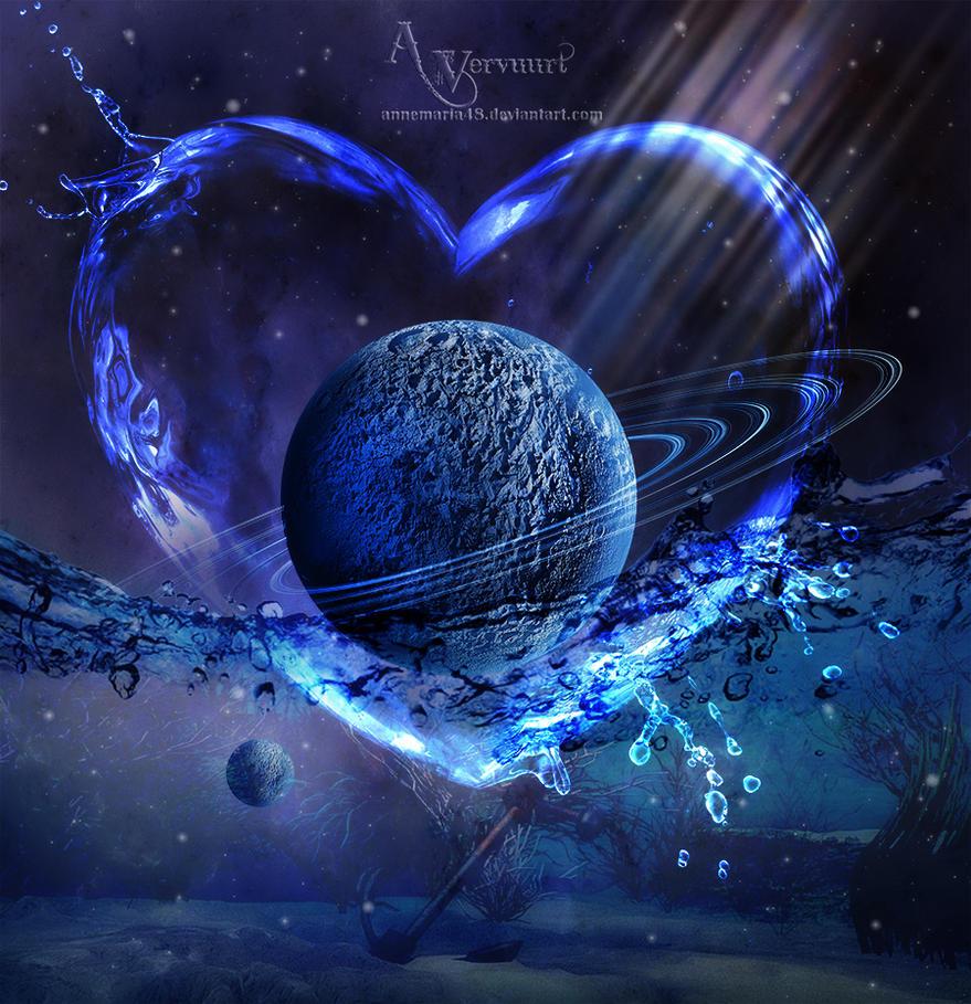 Earth Felt In Water by annemaria48