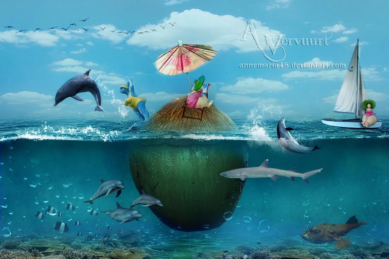 Summer Fun in Sea by annemaria48