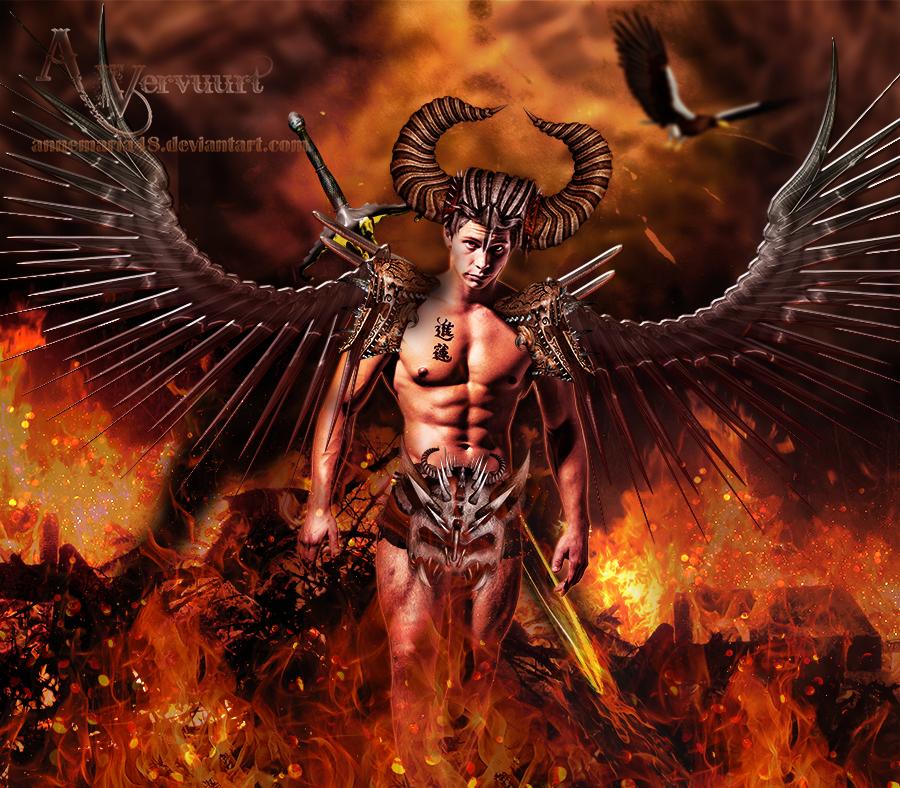The Fire Warrior by annemaria48
