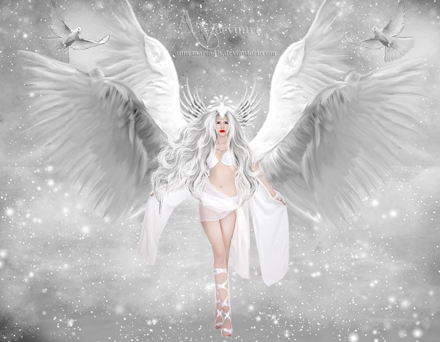 Snow white angel by annemaria48