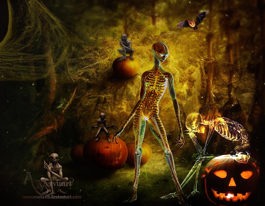 Evil Halloween by annemaria48