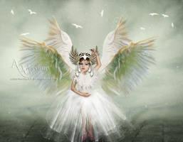 White Angel Child by annemaria48