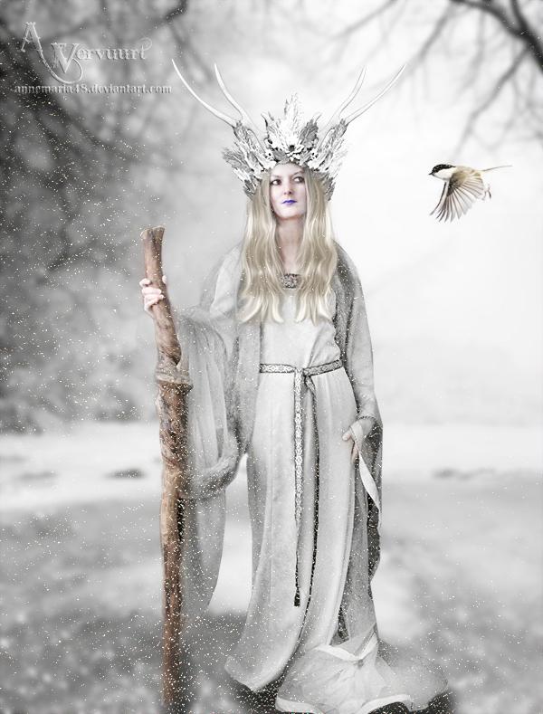 Winter walk by annemaria48