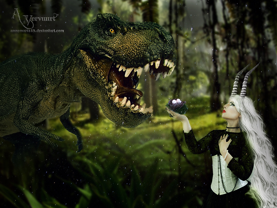 The story of baby dino by annemaria48