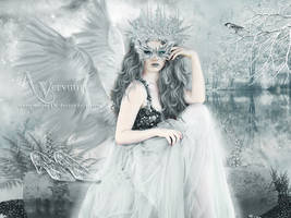 The fairy Snow Angel by annemaria48