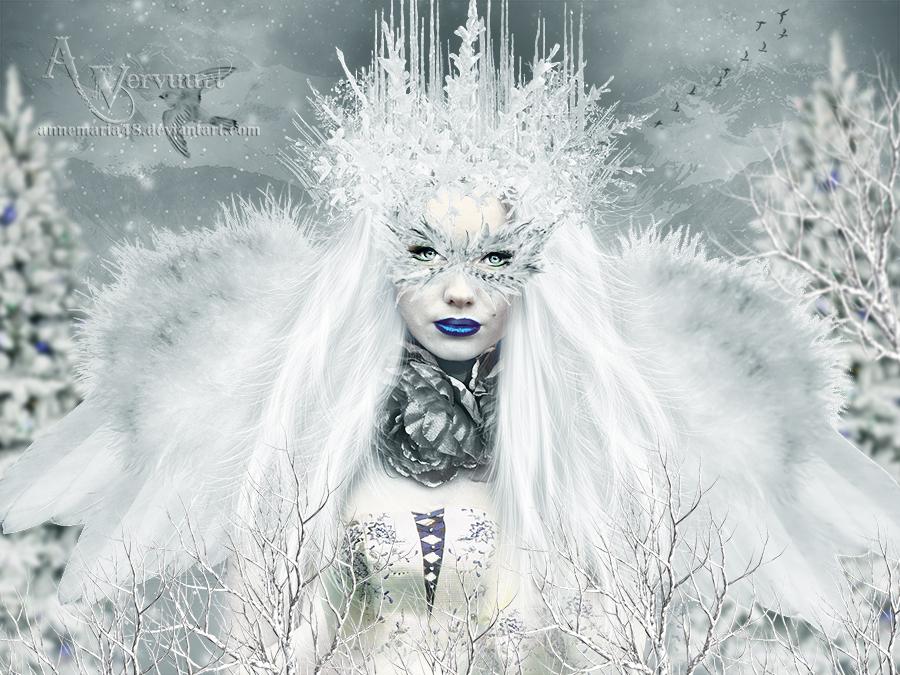 Citaten Winter Queen : The winter queen by annemaria on deviantart