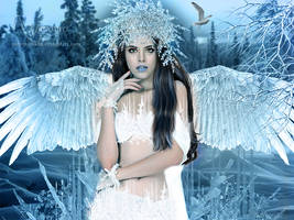 Ice queen angel by annemaria48