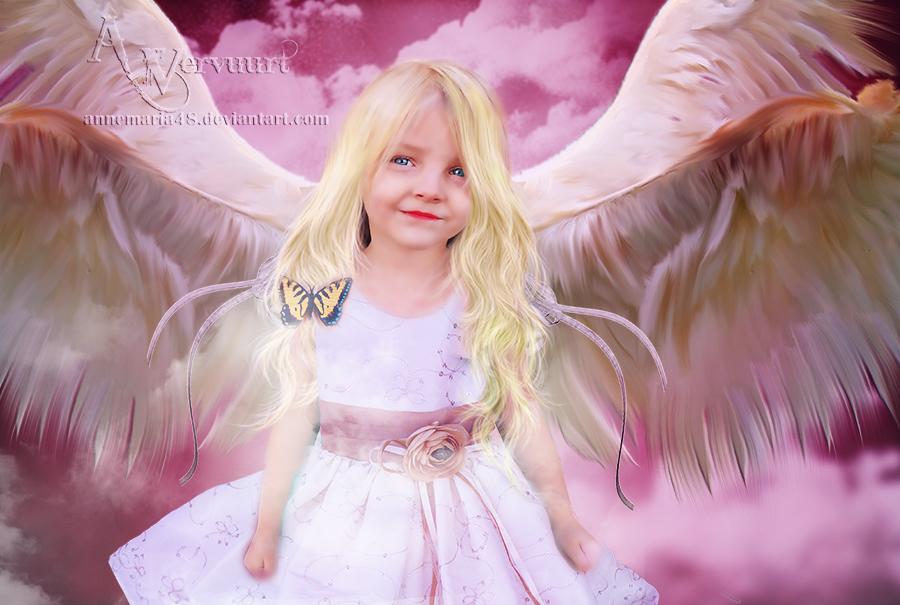 The fairy angel by annemaria48