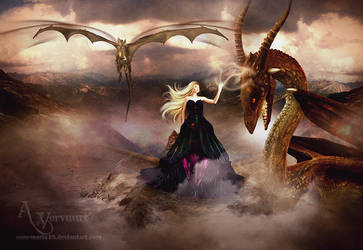 The dragon and me by annemaria48