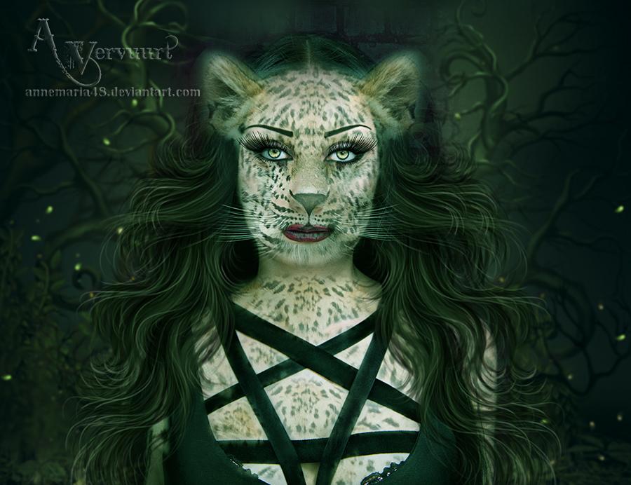 Leopard Woman 2 by annemaria48