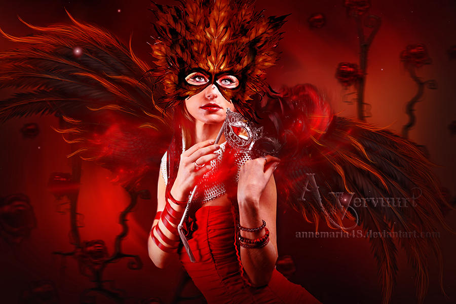 The mysterie lady by annemaria48