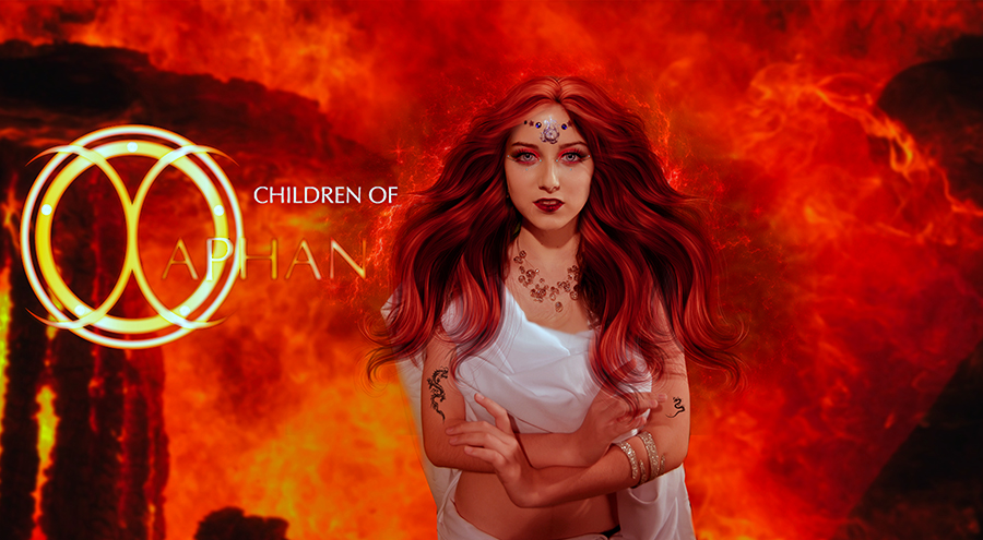 The children of Xaphan  Micah Character by annemaria48