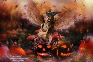 Elf halloween by annemaria48
