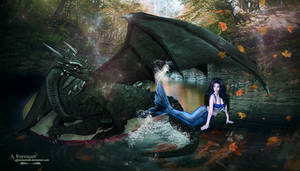 The dragon and the mermaid story
