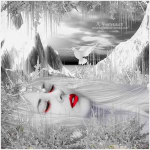 The sleeping ice  queen
