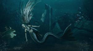 mermaid 8 by annemaria48