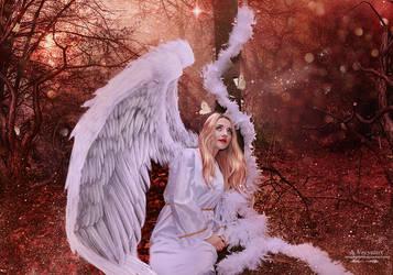 Mysterie Angel by annemaria48