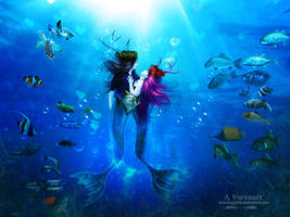 Mermaid In Love by annemaria48