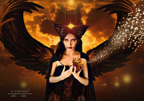The black angel by annemaria48