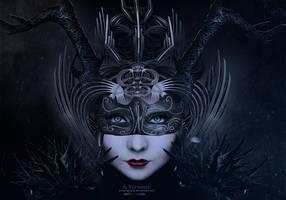 The dark miss by annemaria48