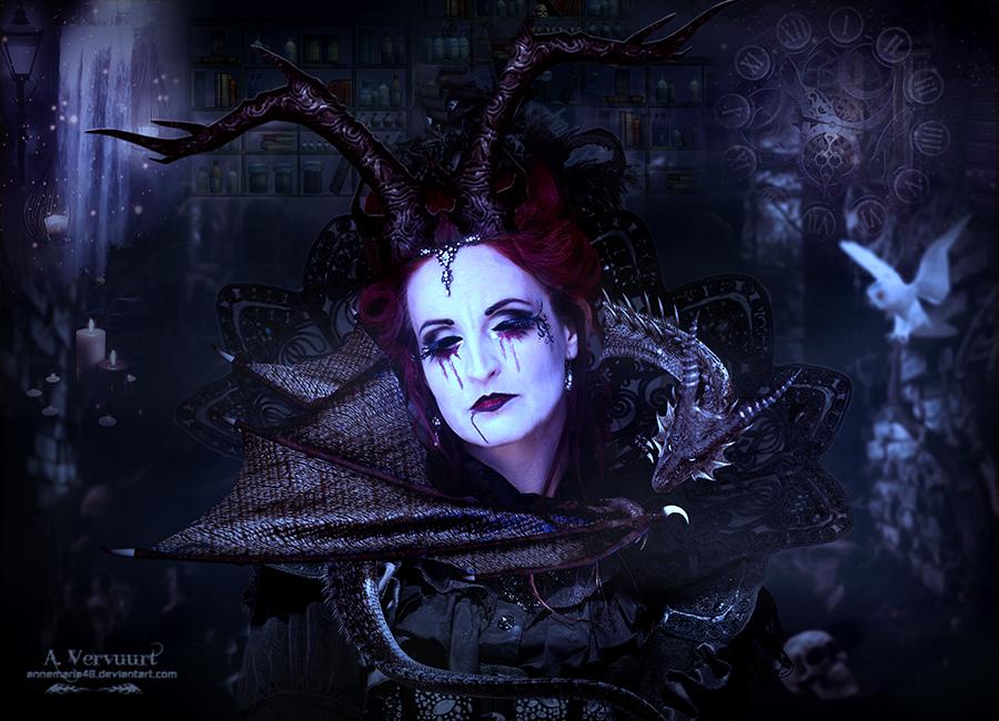 The vampire woman
