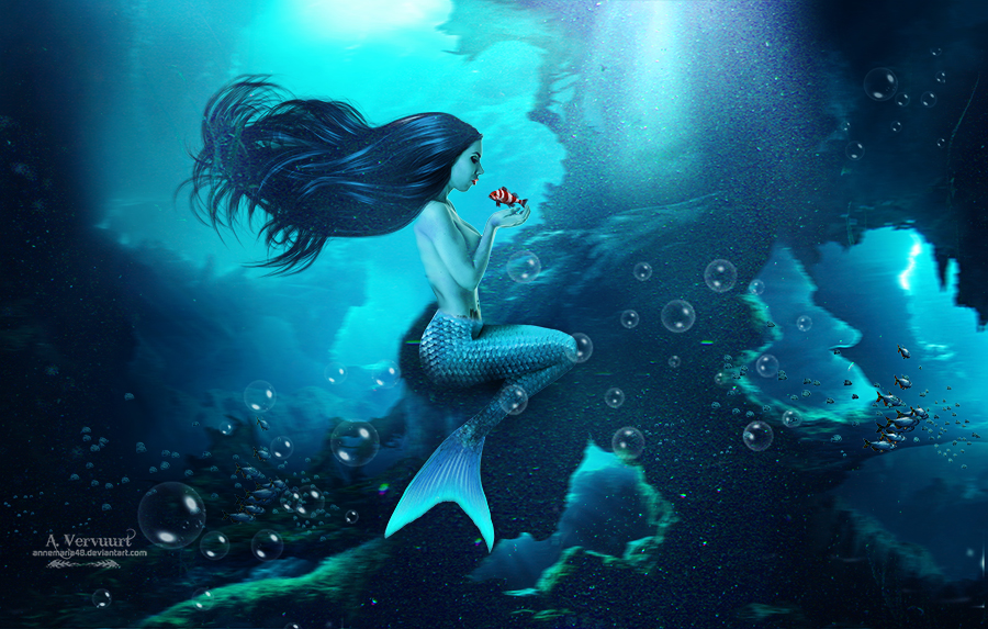 Bleu mermaid