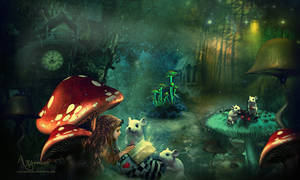 Mushroom Land 2 by annemaria48