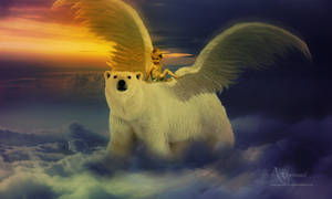 The flying bear