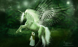 The angel horse