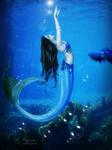The mermaid yoga
