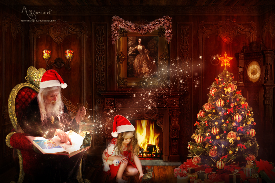 Christmas Time by annemaria48