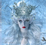 The elf ice queen by annemaria48