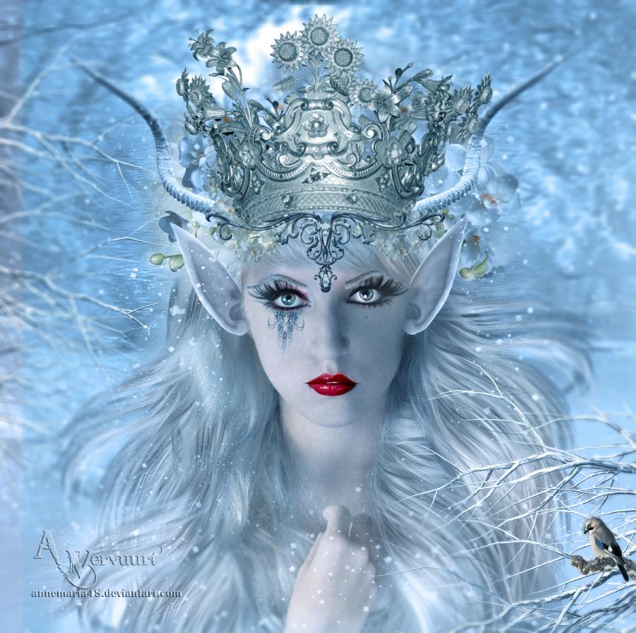 The elf ice queen