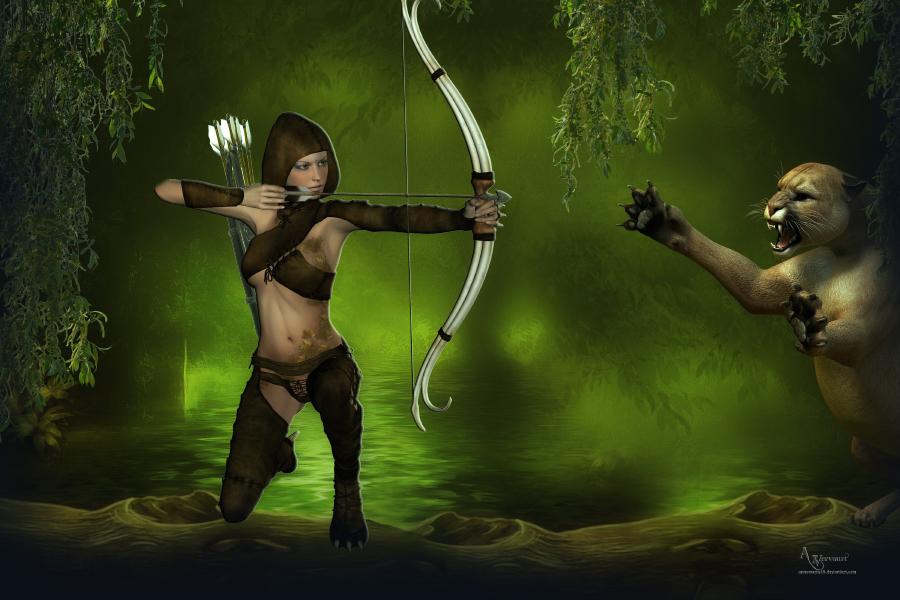 Green arrow by annemaria48