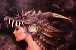 The dragon headdresser