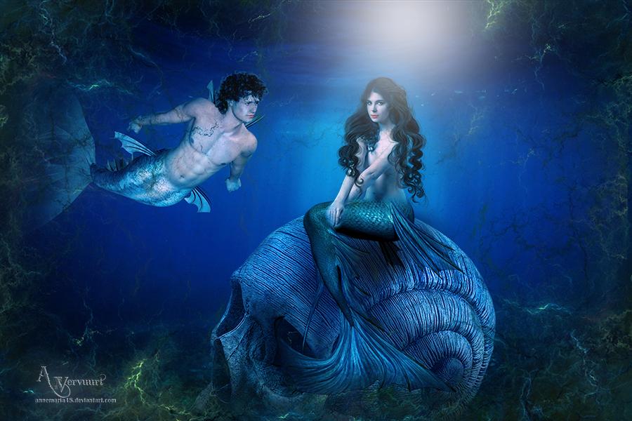Mermaids Love by annemaria48
