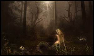 The snake woman 2 by annemaria48