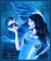 The skull mermaid by annemaria48